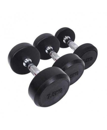 Round Head Heavy-duty Commercial Grade Dumbbell 2.5 - 25 KG Sets