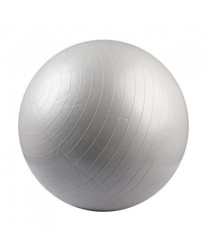 Anti-burst Gym Ball with Pump (Grey & Red)