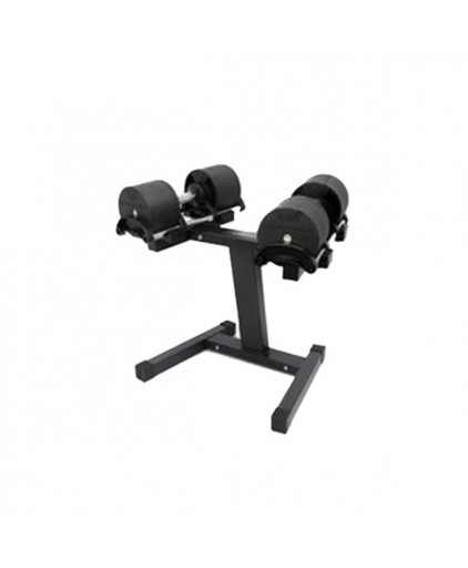 Aspire Strength Adjustable Dumbbell 20kg with Stand