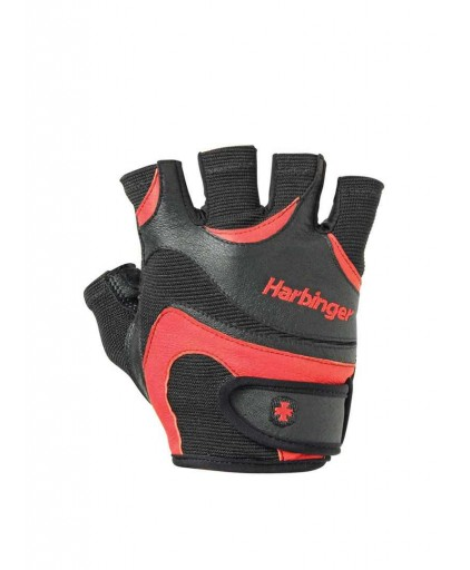 Harbinger Flexfit Gloves Red/Black