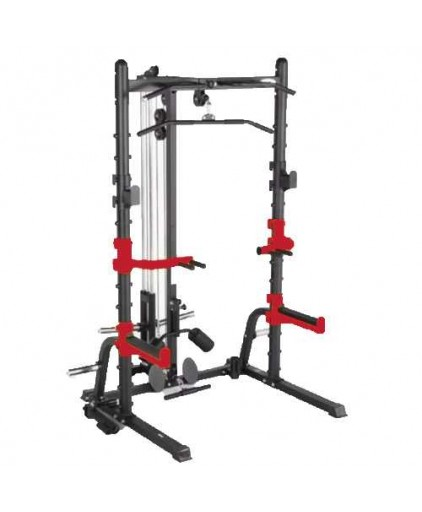 Aspire Strength MG101 Half Rack with Lats Pulldown
