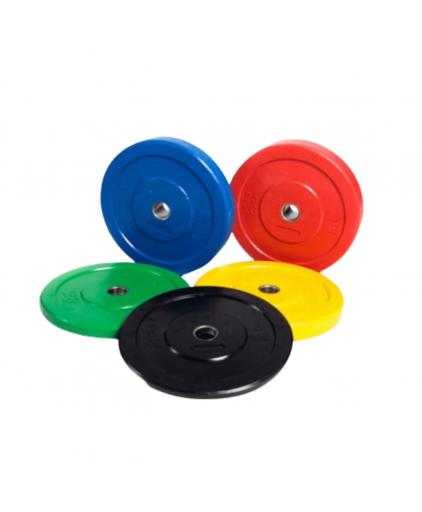 Bumper Plates Color Markings (5KG to 25KG)