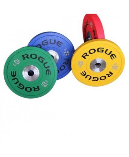 ROGUE Urethane High Quality Bumper Colored Plates (10lb - 55lb)