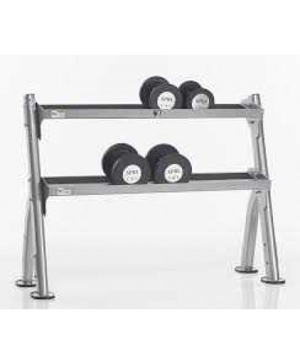 TUFFSTUFF EVOLUTION 2-TIER DUMBBELL / KETTLEBELL RACK (CDR-300)
