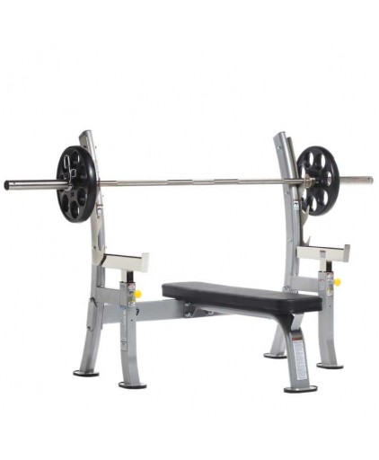 TUFFSTUFF EVOLUTION OLYMPIC BENCH WITH SAFETY STOPPERS (COB-400)