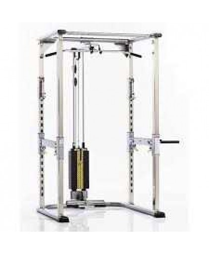 Tuffstuff Evolution Power Cage (CPR-265) with CHL-305WS High Low Pulley w/200lbs Weight Stack