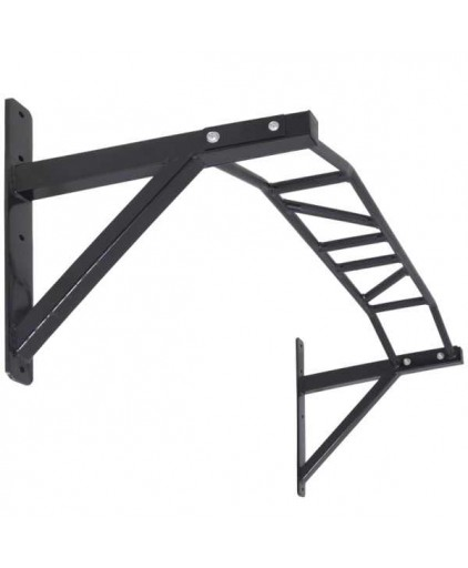 Heavy Duty Multigrip Pull / Chin Up Wall Mount Bar