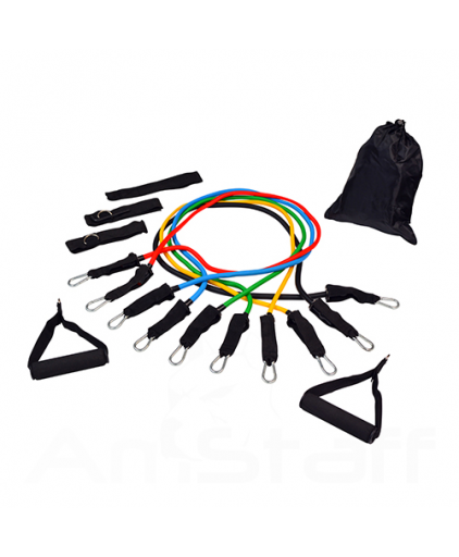 Power Resistance Bands 11 Pcs Set
