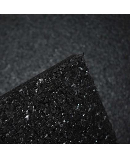PRO- Grade 1000 x 1000 x 15mm  Rubber Gym Mat