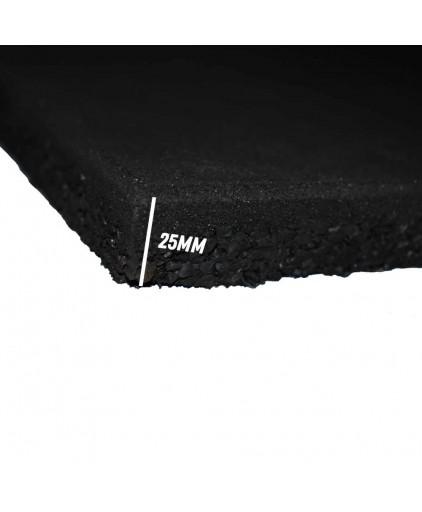 Pro grade Rubber mat 500mm by 500mm by 25mm