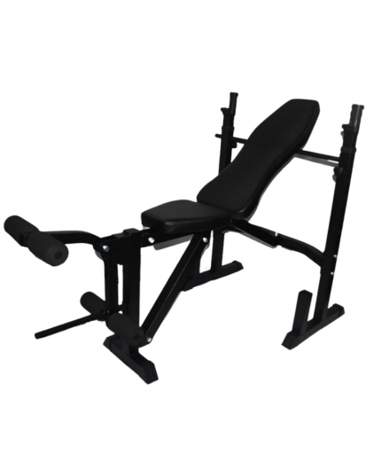 Aspire Adjustable Weight Bench with Rack