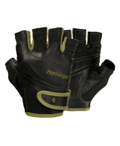 Harbinger Flexfit Gloves Green/Black