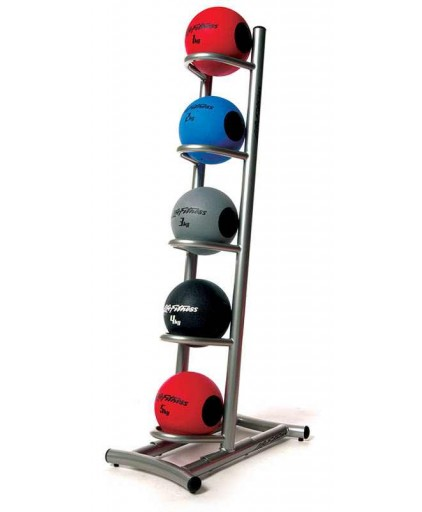 (Used) Lifefitness Medicine Ball Rack