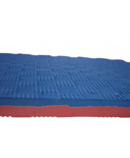 [2 PCS] Prograde Interlocking Floor Mat (Red/Blue)