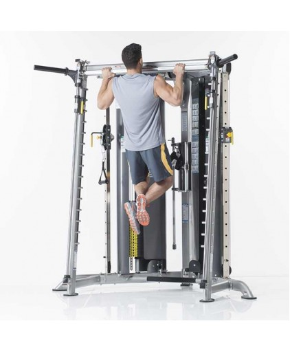 TUFFSTUFF EVOLUTION CORNER MULTI-FUNCTIONAL TRAINER WITH SMITH PRESS (CXT-225)